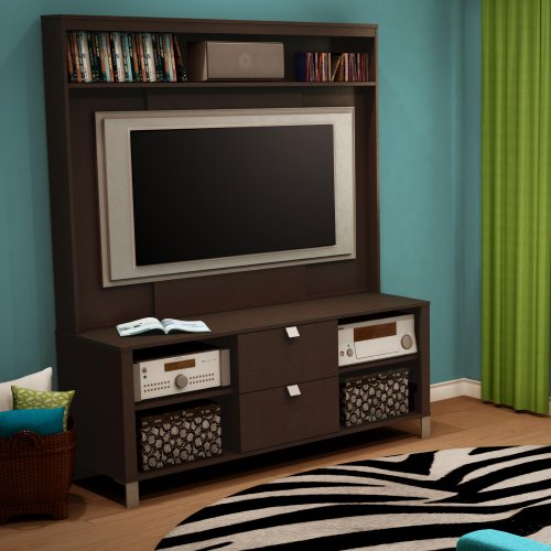 Cheap Cakao TV Stand & Hutch (4259600-621)