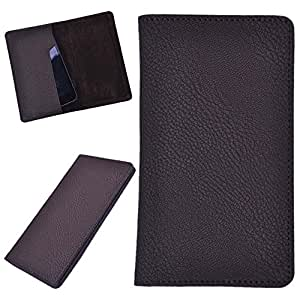 DCR Pu Leather case cover for Panasonic P55 (brown)
