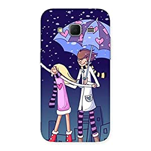 Anime Couple Back Case Cover for Galaxy Core Prime