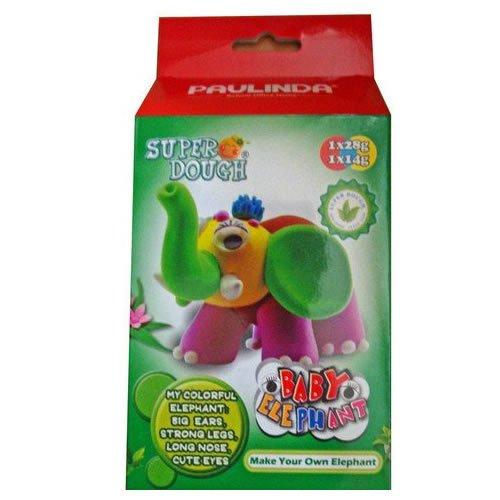 Paulinda Super Dough Little King Baby Elephant Art Kit - 1