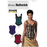 Butterick Patterns B5662 Misses' Corsets, Size EE (14-16-18-20)