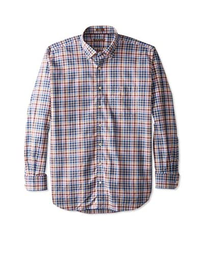 Peter Millar Men's Check Sport Shirt