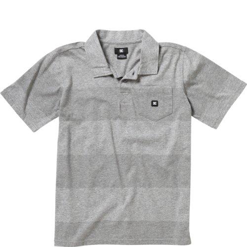 Dc Chomper Polo Shirt - Short-Sleeve - Little Boys' Heather Grey, 3T front-1061669