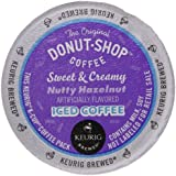 The Original Donut Shop Nutty Hazelnut Iced Coffee, Sweet and Creamy, 22 Count