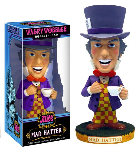 Alice In Wonderland: Mad Hatter Wacky Wobbler