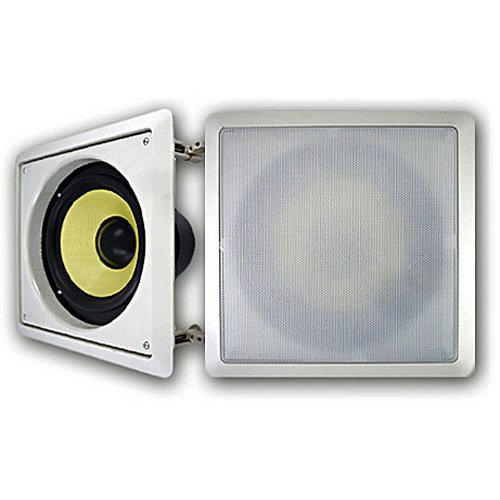 "Acoustic Audio Hds8 In-Wall/Ceiling 500 Watt 8"" Home Theater Passive Subwoofer Pair Hds8-Pr"