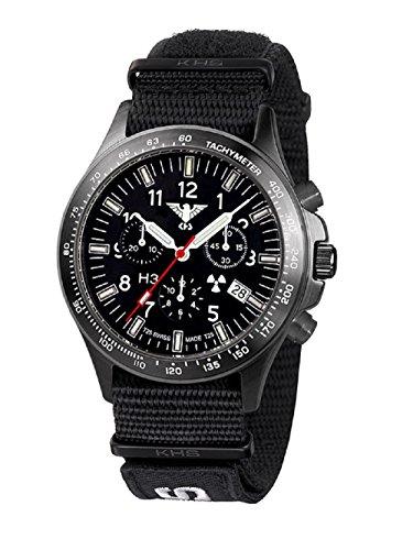 Relojes KHS Tactical KHS hombre cronógrafo negro y gris. BPTC.NXT7 Titan IPB OTAN XTAC - Colour negro