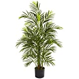 Nearly Natural 5388 Areca Palm UV Resistant Tree, 3.5-Feet, Green