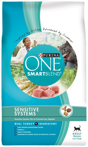 Purina One Sensitive Systems Cat, 7-Pounds