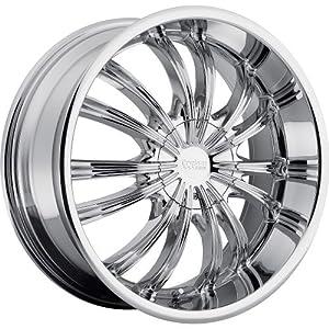 20×8.5 Chrome Wheel Cruiser Alloy Shadow 5×115 5×120