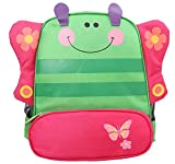 Scheppend 3D Cartoon BackPack Children Baby Animals Travel School Bags,Butterfly