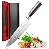 Imarku Pro Kitchen 8 inch Chefs Knife High Carbon Stainless Steel Sharp Knives Ergonomic Equipment