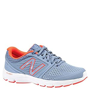 New Balance Women's W575V2 Running Shoe, Blue Gray/Coral, 9.5 B US