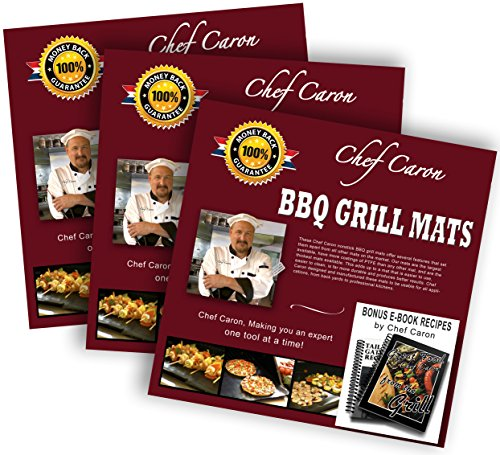 bundle-of-3-gift-sets-bbq-grill-mat-by-chef-caron-each-set-with-two-heavy-duty-grilling-sheets-nonst