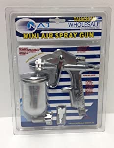 MINI AIR SPRAY GUN - Auto Body, Model Hobby, DIY tools!