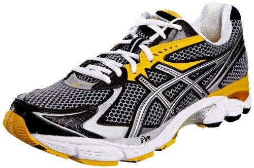 Asics Men's Gt-2160 (2E) Lightning/Black/Yellow Trainer T105N 9390 7.5 UK