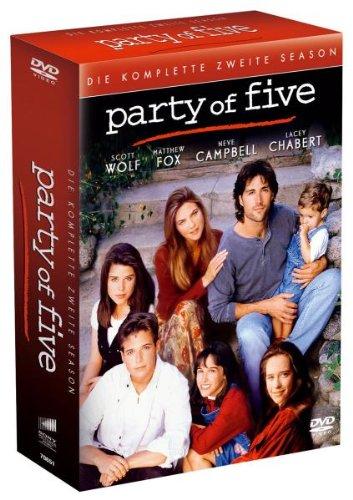 Party of Five - Die komplette zweite Season [6 DVDs]