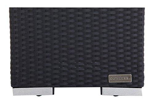 Outflexx Polyrattan Modul Beistelltisch w1, schwarz kaufen