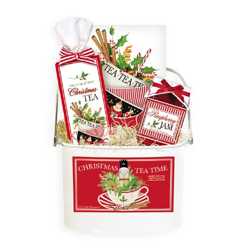 Christmas Tea Time Gift Bucket