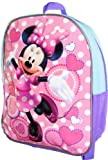 Disney Minnie Mouse Sparkling Hearts 11 Mini Toddler Pre-school Backpack