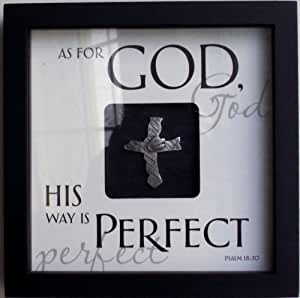 Words of Mine - HIS WAY IS PERFECT - Wall Art