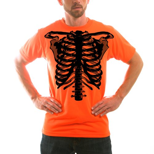 Zombie Skeleton Adult Halloween Costume Unisex Short Sleeve TShirt
