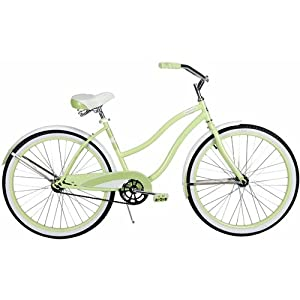 26 Huffy Cranbrook Ladies Cruiser Bike, Pistachio by Huffy