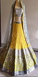Isha Enterprise Lehenga Choli(BHV-3307_Yellow)