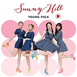 Sunny Hill - Kpop CD, Sunny Hill - Young Folk (Poster ver)[002kr