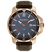 Tommy Bahama Big Island Diver 3-Hand Brown Leather Men's watch #TB1295 by Tommy Bahama