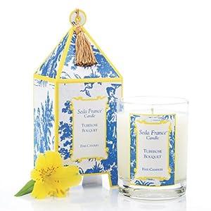 Seda France Pagoda Candle - Tuberose Bouquet