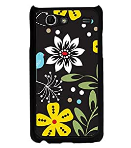 ifasho Animated Pattern birds and flowers Back Case Cover for Samsung Galaxy S Advance i9070