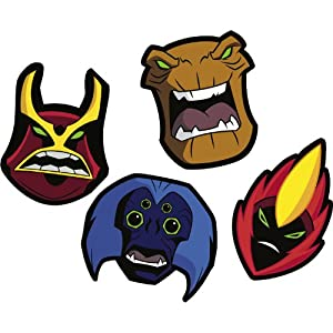 Ben 10 Masks 8ct