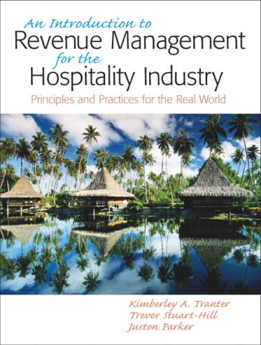Introduction to Revenue Management for the Hospitality...