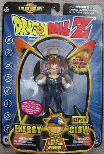 Picture of Irwin S.S. Vegeta (Halo) from Dragon Ball Z Energy Glow Action Figure (B0036LT4EI) (Dragon Ball Action Figures)