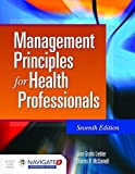 img - for Management Principles For Health Professionals book / textbook / text book
