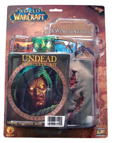 World of Warcraft Undead Latex Prosthetic Kit - 1