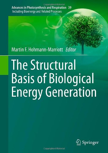 The Structural Basis Of Biological Energy Generation (Advances In Photosynthesis And Respiration)