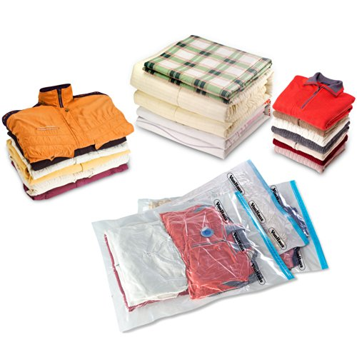 Aspirateur accessoires vonhaus 12 sacs de rangement gain de place pour v tement for Rangement chaussures gain de place