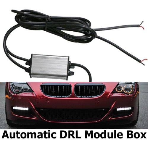 Ijdmtoy Led Daytime Running Light Relay Harness Switch Control Box With Automatic On/Off Function