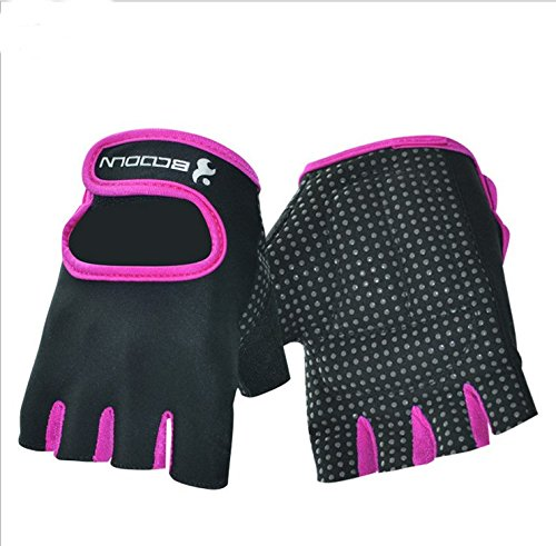 iwish(TM) Women's Weightlifting Exercise Half Finger Sport Cycling fitness gloves win max wmf09136 exercise fitness half finger gloves black pair