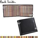 ポールスミス 財布 AJXA 1033 W567 内部カラフルストライプ  ag-554000