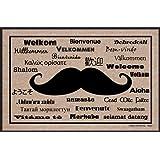 High Cotton Moustache International Doormat