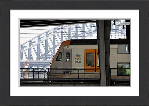 framed-print-of-australia-theme-public-transport