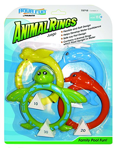 Poolmaster 72712 Soft Dive Animal Rings