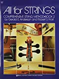 All For Strings Comprehensive String Method Bk. 2 Viola