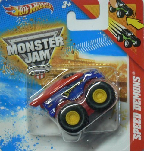 Hot Wheels Monster Jam Mini Speed Demons Superman - 1