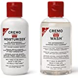 Cremo Cream Face Wash(6fl.oz.) + Cremo Cream Face Moisturizer(4.4fl.oz)(pack of 2)