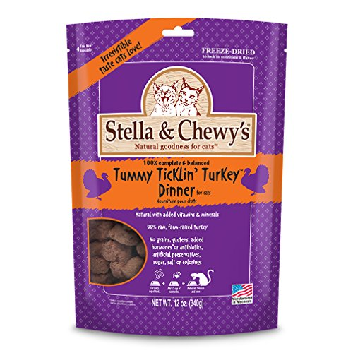 Stella & Chewys Tummy Ticklin' Turkey Freeze-Dried Dinner