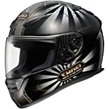 Shoei Conqueror RF-1100 Street Motorcycle Helmet – Color: TC-9, Size: Medium